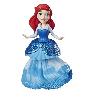 Disney Princess Disney Prenses Klipsli Mini Figür Ariel Renkli